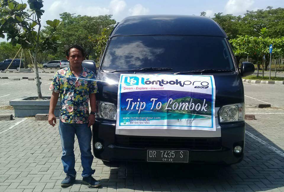 Transport dan paket wisata Lombok